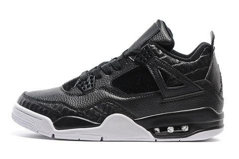 Air Jordan 4 Retro Premium 'Black'