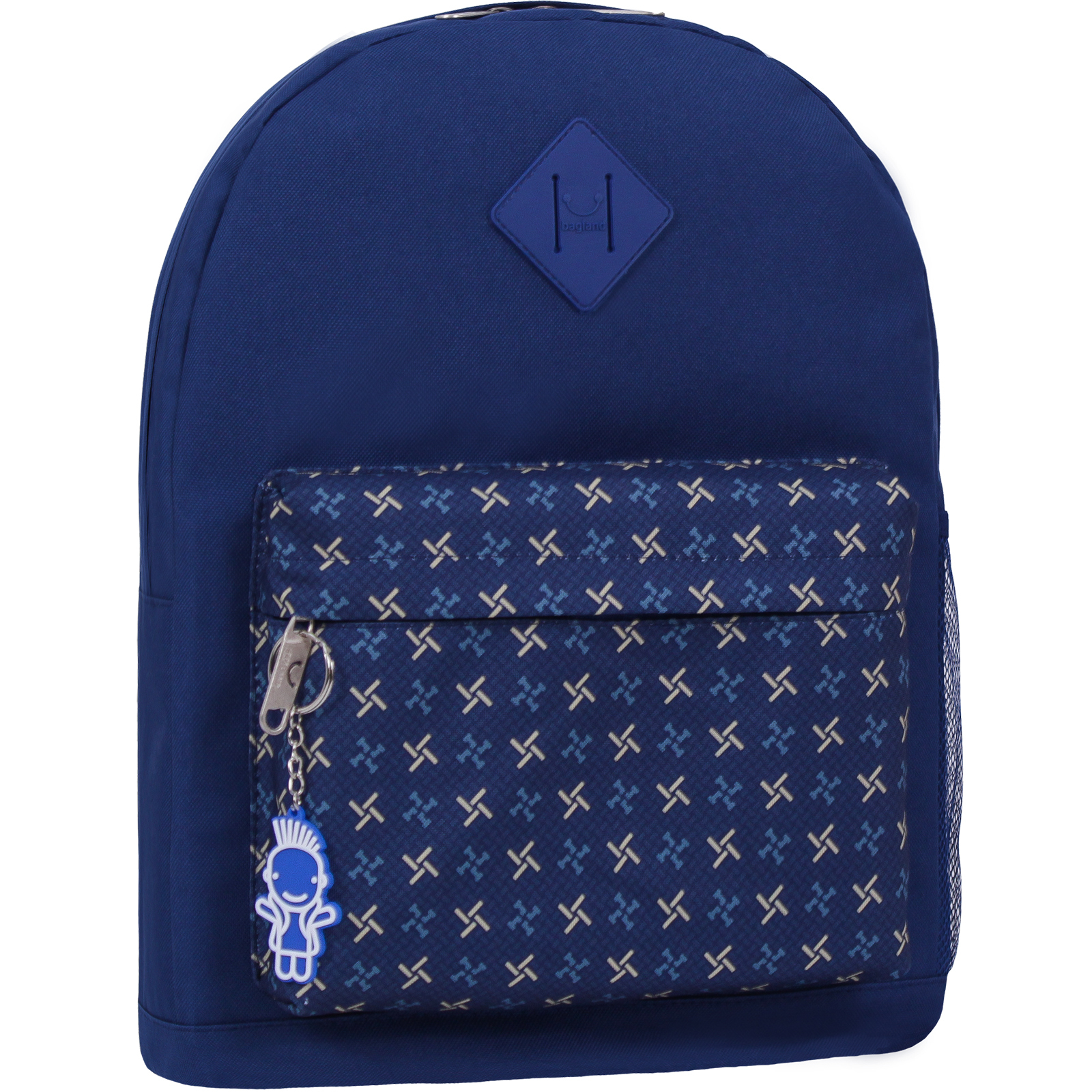 Городские рюкзаки Рюкзак Bagland Молодежный W/R 17 л. Синий 463 (00533662) IMG_2301_463_1600.jpg
