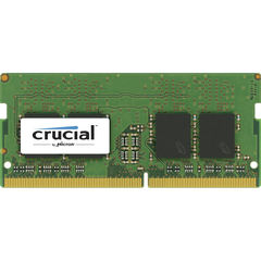 Память для ноутбука Crucial SO-DIMM 8GB DDR4 2400 MT/s (PC4-19200) CL17 SR x8 Unbuffered 260pin Single Rank