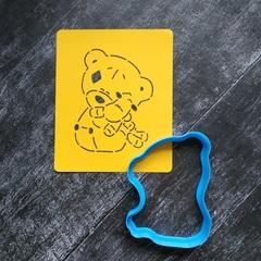 Мишка Тедди №8 с игрушкой