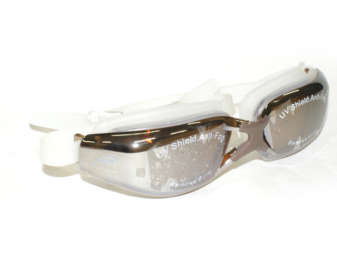 Очки для плавания, анатомическая форма линз,материал оправы - силикон, зеркальные линзы с защитой от UV-лучей, антизапотевающее покрытие, двойной ремешок с автоматической системой регулирования , беруши в комплекте. Пластиковая упаковка :(WG53А):