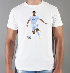 Футболка с принтом Криштиану Роналду (Cristiano Ronaldo) белая 0014