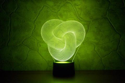 3D светильник Абстракция #5