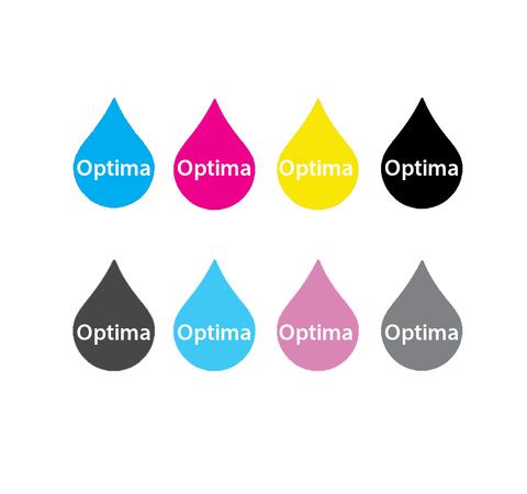 Комплект пигментных чернил Optima для Canon 8*250 мл