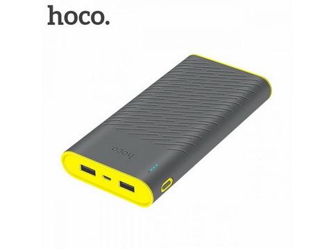 Power Bank HOCO B31A Rege, 2xUSB, 30000mAh, grey