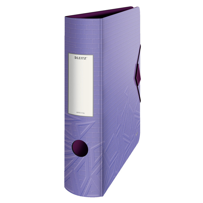 Папка-регистратор Leitz 180° UrbanChic 82 мм фиолетовая