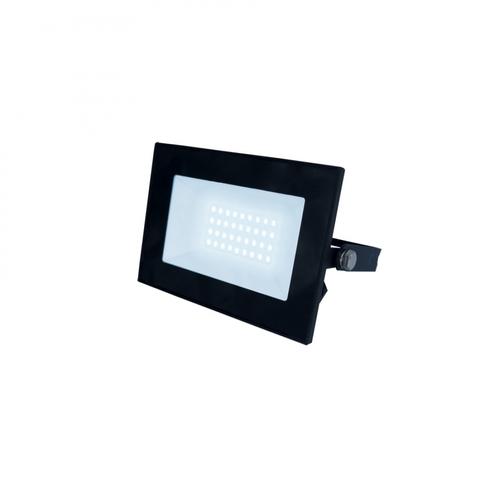 ULF-F21-30W/6500K IP65 200-250В BLACK Прожектор светодиодный. Дневной свет (6500K). Корпус черный. TM Uniel