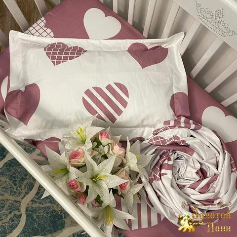 Комплект постельного белья в детскую кроватку (0+) 210414-Ф41155