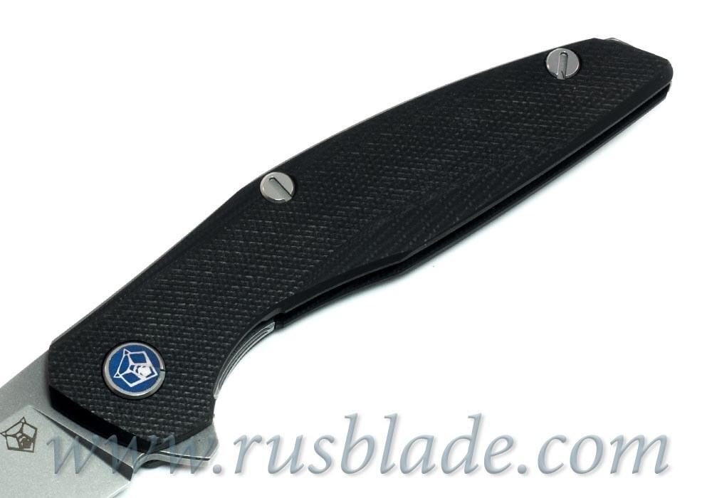 Shirogorov 111 S30V G10 black 3D MRBS - фотография