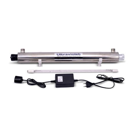 Стерилизатор Воды Ультрафиолетовый Wonder Light HE-180 (комплект, 0,7м3/ч, ресурс лампы 8/9000ч)