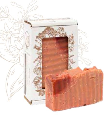 Мыло Кастильское «Ваниль-корица». Сварено из растительных масел горячим способом, 110 ± 10 г