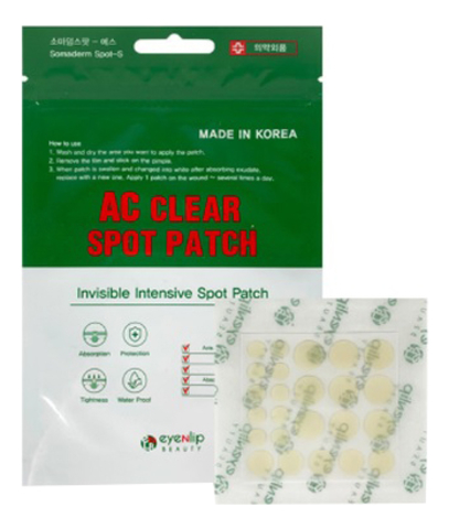 EYENLIP AC Маски-патчи для проблемной кожи AC CLEAR SPOT PATCH