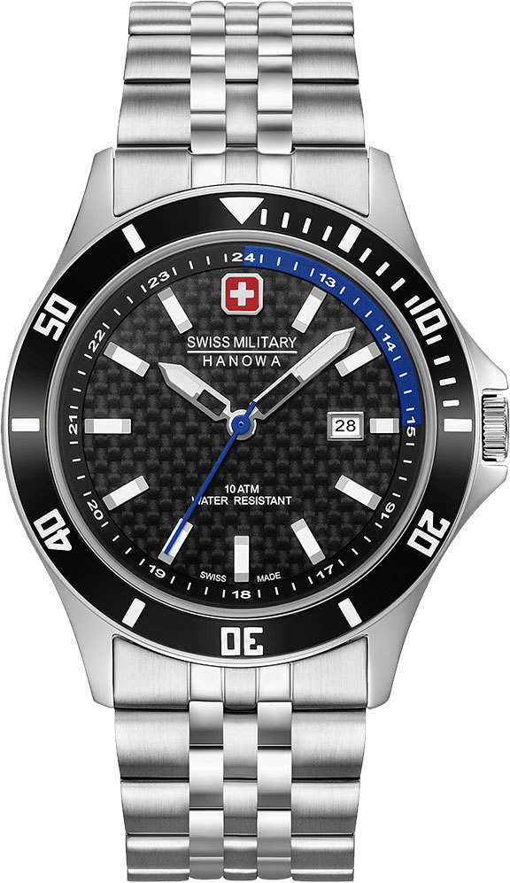 Часы мужские Swiss Military Hanowa 06-5161.2.04.007.03 Flagship Racer