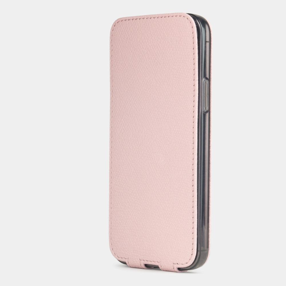 Special order: Чехол для iPhone 12/12Pro из натуральной кожи теленка, бледно-розового цвета