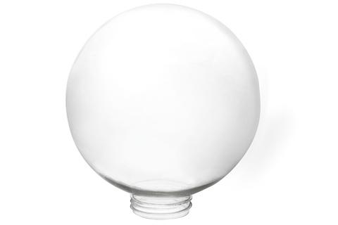 Рассеиватель шар ПММА 160 мм прозрачный (резьба А 85) TDM