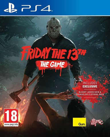 Friday The 13th: The Game (PS4, английская версия)