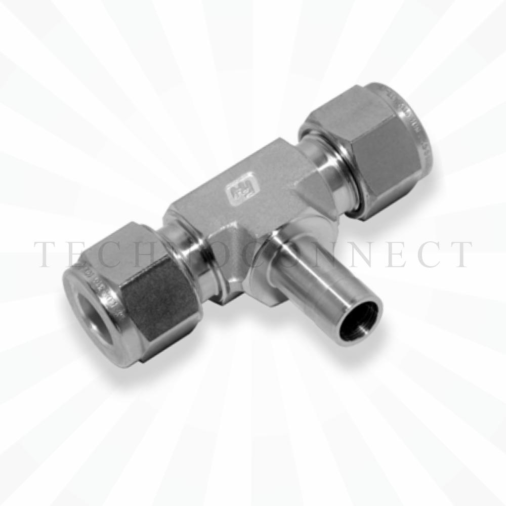 CBTA-12M  Тройник - адаптер: фитинг 12мм- присоедин. фитинг  12 мм