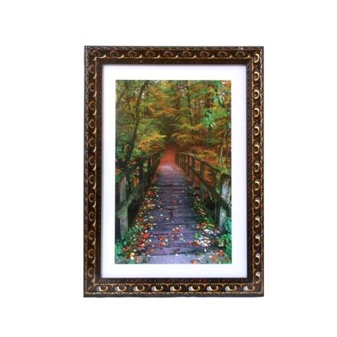 Ф/рамка Яблоневый сад, медь на коричневом, 21х30, пластик