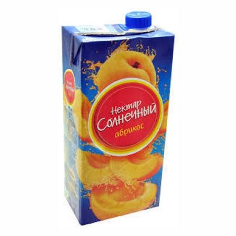 Напиток НЕКТАР СОЛНЕЧНЫЙ Абрикос 1,93 л т/п КАЗАХСТАН