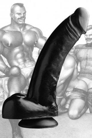 Фаллоимитатор Black Magic, 30 см - Tom of Finland