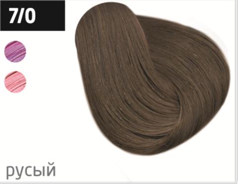 OLLIN color 7/0 русый 100мл перманентная крем-краска для волос