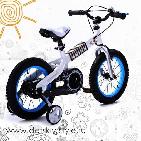 "Велосипед Royal Baby ""Buttons Steel 16"" (Роял Беби)"
