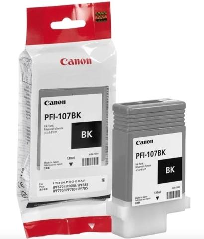 Картридж Canon PFI-107Bk  6705B001 черный