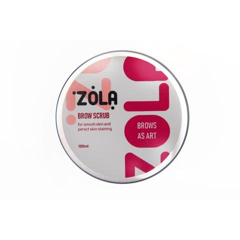 Скраб для бровей Zola - Brow Scrub, 100 мл