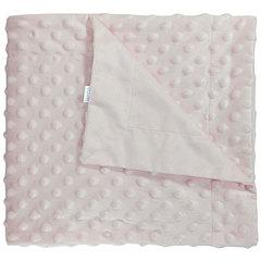 Папитто. Плед двухслойный вельбоа рельефный 82х92 см розовый