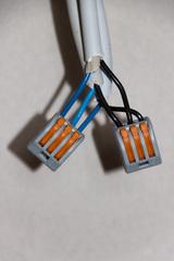 Клемма многоразовая Wago с рычагами для 3-х проводов (Зажим Ваго)