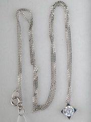 0320182 (серебряная цепочка с подвеской)