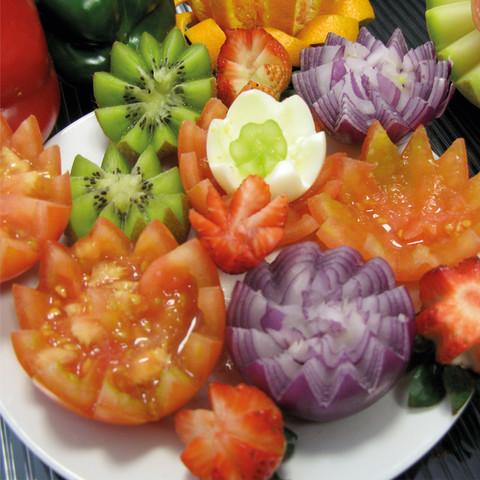 Трипл слайсер для нарезки овощей, 3 предмета
