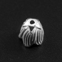 Бусина Бутон 8,5х8 мм серебро 925