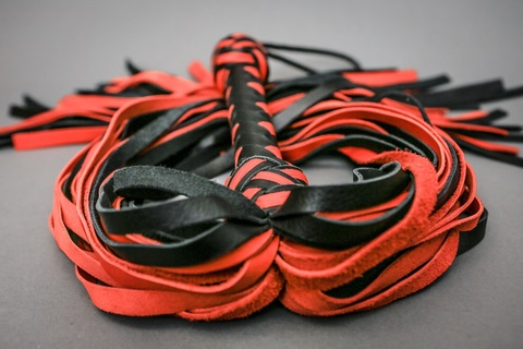Флогеры чёрно-красные, 60 хвостов..