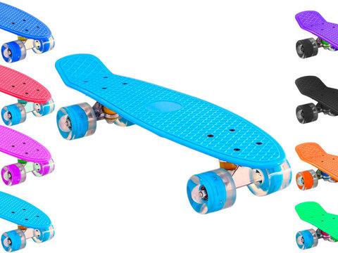 Круизер-скейт со светящимися колёсами: S-209