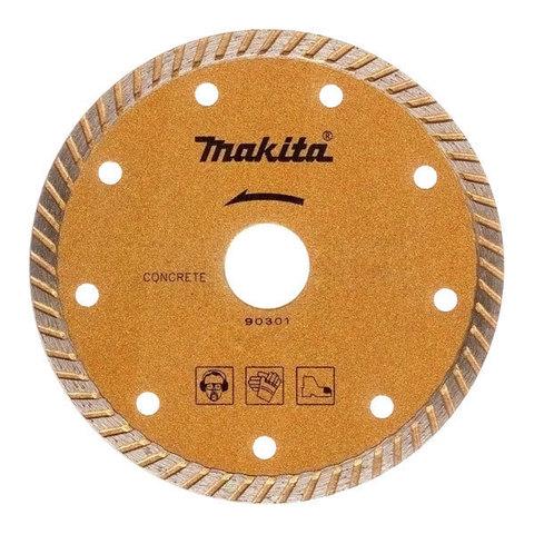 Рифлёный алмазный диск Makita 180 мм