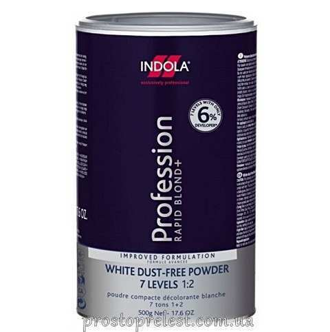Indola Profession Rapid Blond White - Средство для осветления Белый