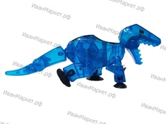 Стикбот динозавр рекс синий