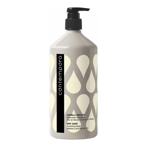 Маска для всех типов волос с маслом облепихи и маслом маракуйи, Barex Contempora,1000 мл.