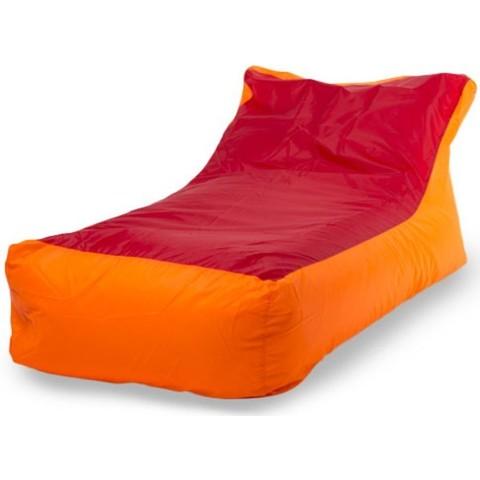 Кресло-мешок «Кушетка» Оранжево-красный