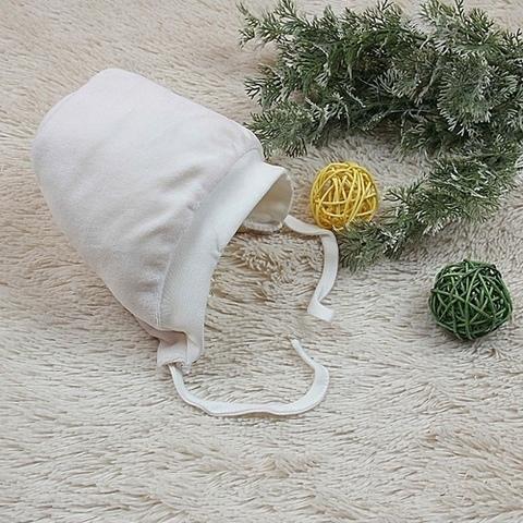 Утепленная шапочка Cool для новорожденных (айвори)