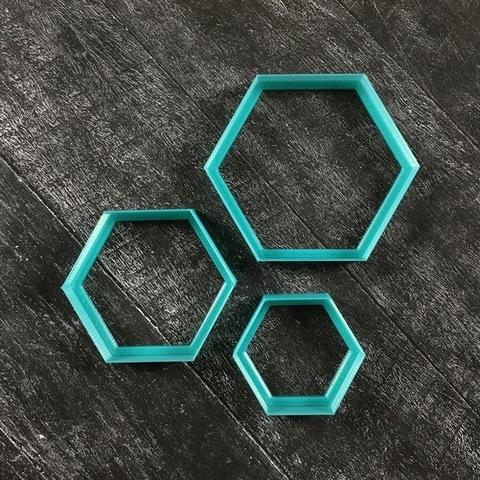 Фигурная рамочка №52 Шестиугольник