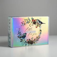 Складная коробка Little Present for you, 30,5 × 22 × 9,5 см, 1 шт.