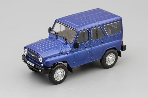 UAZ-315195 Hunter 2003 blue 1:43 DeAgostini Auto Legends USSR #280
