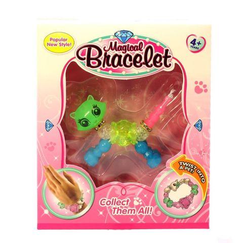 068-8143 Магический браслет с животными для девочек (ассорти)