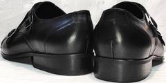 Классические мужские туфли натуральная кожа Ikoc 2205-1 BLC.