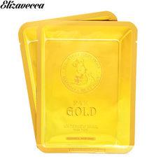 Elizavecca 24K Gold Water Dual Snail Mask Pack Антивозрастная маска с экстрактом золота и улитки  1 шт. 25 гр.