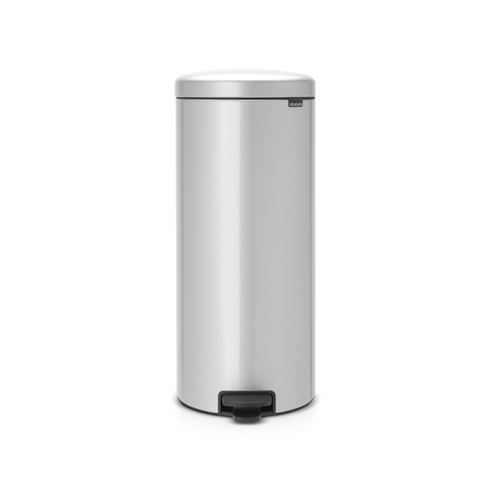 Мусорный бак newicon (30 л), Серый металлик, арт. 114465 - фото 1