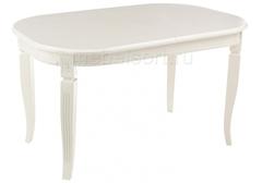 Стол деревянный Стол Ромео (Romeo) молочный без патины