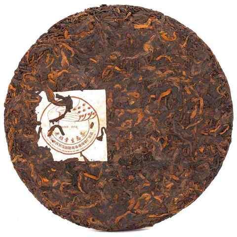 Прессованный чай Шу пуэр 2006г ЧАЙ ИП Кавацкая М.А. 0,1кг
